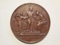 Grande medaglia proclamazione di Roma come capitale 1871 V.Emanuele II di savoia
