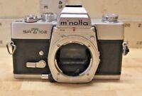 Vintage Minolta SRT102 35mm SLR Film Camera Body