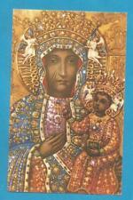 💙 🌟 ESTAMPA RELIGIOSA HOLY CARD NOSTRA SENORA DE CZESTOCHOWA TSPA  🌟💙