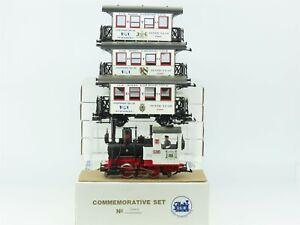 G Scale LGB Commemorative Set #00193 Steam Locomotive Set
