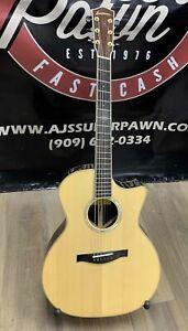 Eastman AC82CEFF Acoustic Electric Guitar w/ Hard Case
