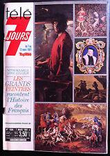 Télé 7 Jours 07/03/1981; les Grands Peintres/ Marcel Cerdan, Drucker/ César