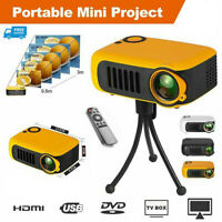 Mini Portable Pocket Projector HD 1080P LED Home Theater Video Projector HDMI HK