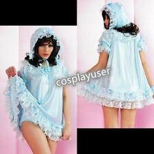 Adult Baby Fetish Sissy Maid Prissy CDTV Frilly Bonnet