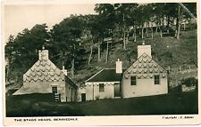 BERRIEDALE Caithness Scotland Stags Heads b&w PC Photo c1920s