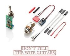 EMG PA2 PREAMP BOOSTER GUITAR ON / OFF VIA MINI TOGGLE SWITCH BOOST UP TO 20 dB