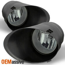 Fits Smoked 07-13 Toyota Tundra Bumper Fog Lights W/Covers,Switch Left+Right