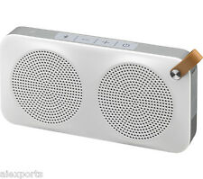 JVC SP-AD90-W Portable Wireless Speaker with NFC & Bluetooth  - White
