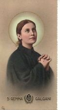 653 S. Gemma Galgani Santino Holycard ..