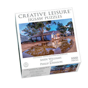 1000pc Puzzle Drought & Flooding Rains Riverina NSW Philip Johnson Jigsaw