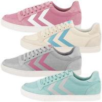 Hummel Slimmer Stadil Hb Low Cut Sneaker Damen Freizeit Sport Schuhe 64-444