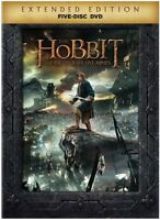 The Hobbit: The Battle of the Five Armies (Extended Edition) [New DVD] Extende