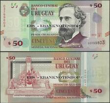 Uruguay, Pnl, 2015,50 Pesos, Hors-Circulation, Nouveau Design @ Ebs