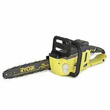 Ryobi 14 In. 40-Volt Brushless Cordless Battery Power Chainsaw New (Tool only)