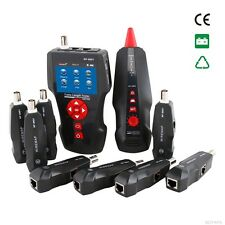 Network Wire Tracker Cable Tester RJ45 RJ11 BNC POE PING, 8- Remotes, NF-8601W