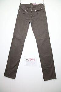 Jekerson Slim Fit (Code W293) Tg41 W27 L32 Jeans Utilisé Vintage Taille Basse