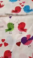 100% pure cotton Fabric quilting, craft - 160cm wide- 10 m long  - Birds