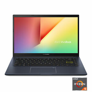 "New ASUS VivoBook 14 M413 Laptop,14"" FHD Ryzen 5 8GB DDR4 RAM / 256 GB SSD,Black"