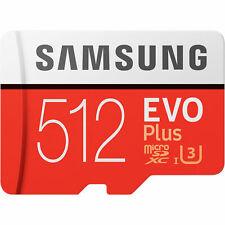 Samsung Evo Plus 512GB Micro SD Card SDXC Class 10 100MB/S Phone Memory Card
