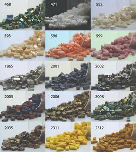 Miyuki Half Tila 2 Holes Beads - 5grs Bag Various colors