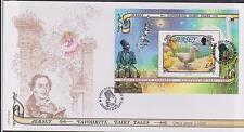 GB - JERSEY 2005 Hans C Andersen/Fairy Tales £2 Mini-Sheet SG MS1200 FDC BIRDS