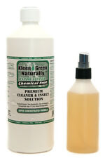 Kleen Green 32oz Concentrate+8oz Spray treat scabies, biting mites & bird mites