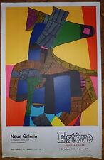 Esteve Maurice affiche lithographie art abstrait Mourlot Cubisme Neue Zurich