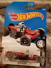 "Hot Wheels Fright Cars ""Rigor Motor"" Mattel NIB Car Tire Toy Collection Gift"