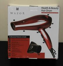 Wazor Blow Dryer 1875W Red Tourmaline Ionic Conditioning Hair Dryer