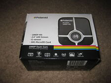 POLAROID Dash Cam 1080P HD PD-E53H - Brand New - Gold