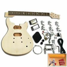 More details for build your ownd guitar kit - prs mahogany with flame veneer, set-in neck