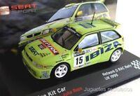 1/43 SEAT IBIZA KIT CAR ROVANPERA NETWOTK Q RAC RALLY 1996  IXO ALTAYA DIECAST