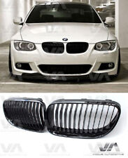 BMW 3 SERIES E92 E93 LCI GLOSS BLACK KIDNEY GRILL GRILLE