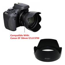 Modern ES-68 II Bayonet Mount Flower Lens Hood For Canon EF 50mm f/1.8 STM Lens