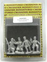 Crusader WWF005 French Infantry Command (World War 2) Early War Officers WWII HQ