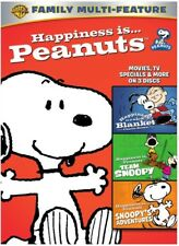 Happiness Is Peanuts: 3 Pack of Fun [New DVD] 3 Pack, Repackaged