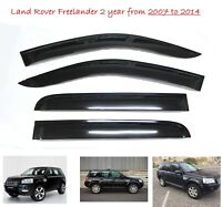 Land Rover Freelander 2 WINDOW DEFLECTOR VISOR VENT SHADE SUN GUARD BLACK - M111