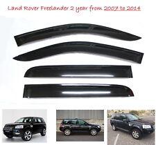 Land Rover Freelander 2 WINDOW DEFLECTOR VISOR VENT SHADE SUN GUARD BLACK - M111
