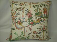 "FRENCH TOILE VINTAGE ACCENT DECORATIVE TOSS THROW PILLOW COVER 15"" x 15"""