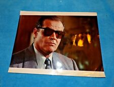 """Jack Nicholson With Shades-Possible Test Photo-Kodak Paper and Numbered 11 x 14"""""""
