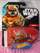 2016 Hot Wheels Star Wars Wicket #14 ✰ Marrone Dune Buggy ✰ Ewok ✰ Personaggio