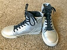 SUPRA high top sneakers - Kids size 5 silver