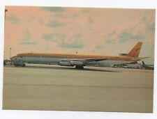 DC-8-63 Surinam Airways PH-DEM C/N 46141 carte postale aviation