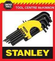 STANLEY 69-9002 9pce LONG ARM TORX KEY SET – T10 –T 50