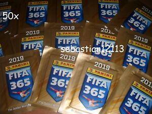 Panini Fifa 2019 New closed 50 packs stickers 50 sachets