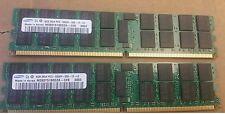 HP Proliant Server 32GB RAM Samsung (8 x 4GB module) 2Rx4 PC2 -5300P-555-12-LO