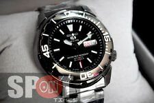 Seiko 5 Sports Automatic Black Stainless Steel Men's Watch SNZE99J1