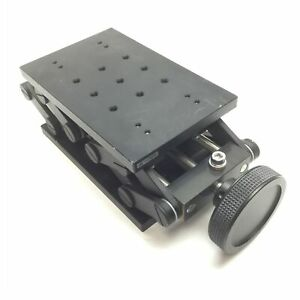 OptoSigma LJA-10163-M6 Pantograph Z-Axis Lab Jack, Stage 100x160mm, Travel 40mm