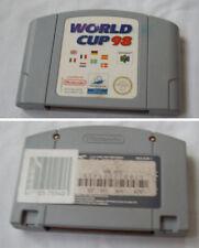 World Cup 98 -EURO- Nintendo 64 N64 NUS-006 NUS-N8WP-UKV
