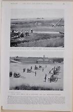 1896 Boer War Era Field Gun Perceuse A Batterie 12 Culasse Chargeurs Fort